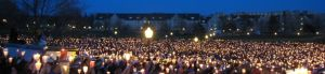 Vigil in the aftermath of the Virginia Tech Massacre