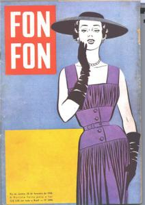 A vintage cover of Fon Fon from the 1950s